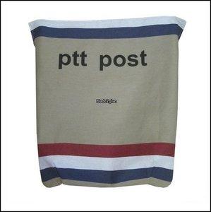 Postvanger PTTpost boven horizontaal