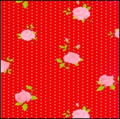 20.Dots & roses rood