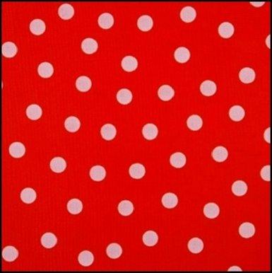 24.Polkadot rood