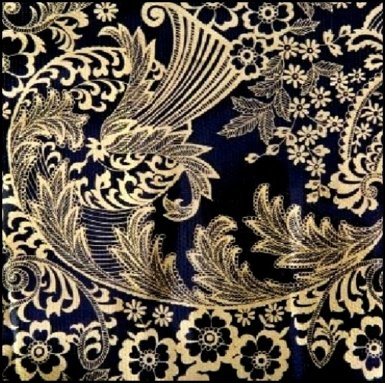 31.Barok goud / zwart